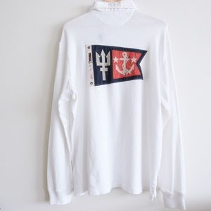 Polo Ralph Lauren Rescue Patrol White Polo XL